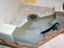 shower pan repair kit large size of drain panel stupendous concrete plastic home depot la