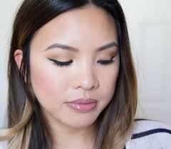 urban decay palette gold everyday makeup tutorial