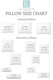 Kings Of Indigo Size Chart Pillow Talk Tips And Tricks For The Perfect Pillow Combinations