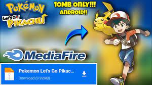Download Pokemon Let's Go Pikachu Mobile Apk for Android - Gaming Chase