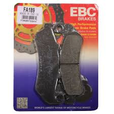 Ebc Motorcycle Brake Pads Application Chart Ebc Front Rear Organic Brake Pads Fa319 2