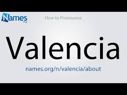 Valencia rhyming, similar names and popularity. What Does The Name Valencia Mean