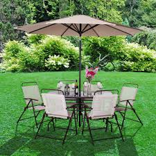 garden metal furniture. billyoh express 6 seater brown metal garden furniture set