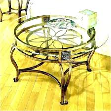 metal glass coffee tables wood end bronze and round side table cool accent kitchen