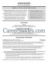 Resume Best Of Elementary Teacher Resume Template Elementary