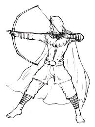 Small Picture Robin Hood Coloring Coloring Pages