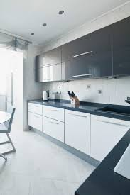 modern white gloss kitchen cabinets and best kitchens horizontal