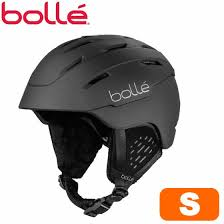 Bolle Volley Snowboarding Helmet Helmet Small Size 53 55cm Ski Snowboarding Ski Snowboard Mat Black Adult Snow Helmet Man And Woman Combined Use