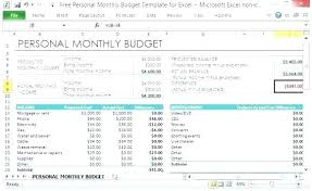 Monthly And Yearly Budget Template Budget Spreadsheet Excel Template