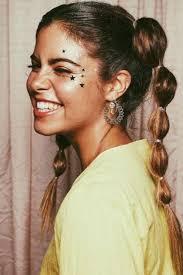 glitter makeup looks for fun summer parties