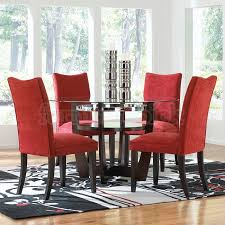 classy design black red. Dining Room Chairs Red Classy Design Innovative Ideas Sets Fancy Plush Images Of And Black