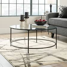 coffee tables graceful black mirror coffee table splendid living room furniture semicircle shaped 2 drawer