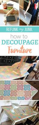diy decoupage furniture. Diy Decoupage Furniture. How To Furniture! Easy Steps Use Mod Podge Add Wrapping Furniture