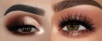 brown and gold eyeshadow ideas