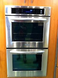 27 inch double wall oven reviews double wall ovens double wall oven architect double wall oven