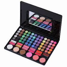 hot 78 colors eyeshadow kit blush lip gloss bination plate makeup kit box with mirror women