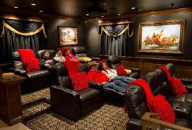 basement home theater room. colorado home theater by sound investments basement room