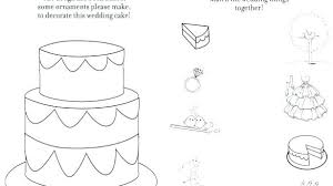 Free Wedding Coloring Pages To Print Free Wedding Coloring Pages To
