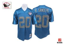 Barry Barry Sanders Jersey Sanders Throwback Barry Throwback Jersey
