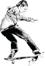 tony hawk coloring pages free to print ng skateboard sheets tech deck ska