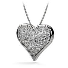 round diamond heart shaped necklace in platinum 033 jpg