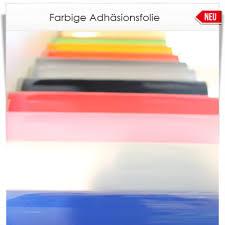 Farbige Adhäsionsfolie In 48 Bunten Farben Ganz Ohne Kleber