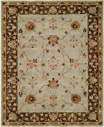 area rugs christie hand knotted wool gray brown area rug