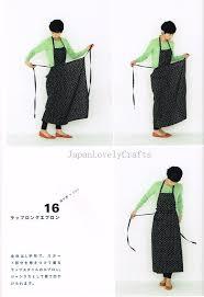 Japanese Apron Pattern New Apron Apron Dress By Yoshiko Tsukiori Straight Stitch Flickr