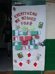 christmas office door decorating. Christmas Door Decorations Ideas For The Office Decorating Student Activities Holiday Contest Decoration -