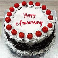 Send Anniversary Black Forest Cake 12 Kg To India Gifts To India