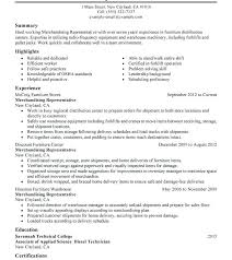 Merchandising Resume Examples. Retail Merchandiser Resume Sample ...