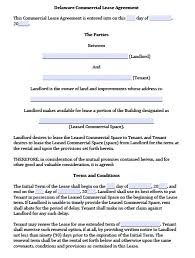 Free Commercial Lease Agreements Forms What Is A Rental Agreement Metierlink Com
