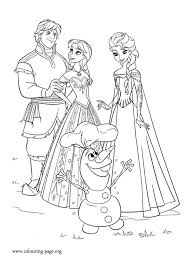 Small Picture Anna Kristoff Elsa and Olaf are happy that summer has returned