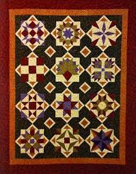 65 best Quilt settings images on Pinterest | Sampler quilts ... & Cornucopia of Thanks Block-of-the-Month Series - I like the setting Adamdwight.com