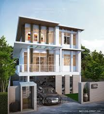 the three story home plans 4 bedrooms 3 bathrooms modern