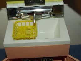 Kitchen Furniture Accessories 60s Barbie Doll Furniture Deluxe Reading Dream Kitchen Sink W