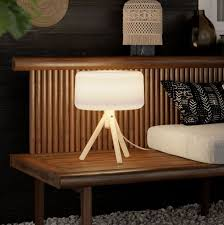 emma solar led outdoor table lamp with
