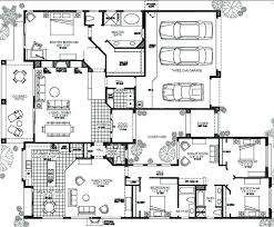4 bedroom single story house plans duplex house plans fresh 1 story house plans with 4