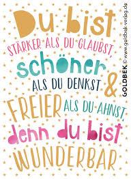 Postkarten Typografie Ein Wirklich Schön Spruch Der Mut Machen