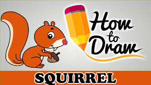 Small Picture How To Draw A Squirrel Easy Step By Step Cartoon Art Drawing