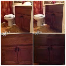 Refinish Wood Cabinets Dont Replace Refinish Transform Your 80s Era Builders Grade