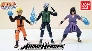 Bandai Anime Heroes Naruto Figures Review | Unboxing All Wave 1 - YouTube