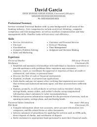 universal banker resume best universal banker resumes resumehelp