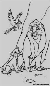 Simba Coloring Pages 24 Best Re Leone Disegni Da Colorare Images On