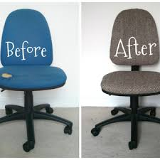 reupholstering an office chair. Enormous How To Reupholster An Office Chair Give Those Old Desk Chairs New Life 7 Steps With Pictures Reupholstering S