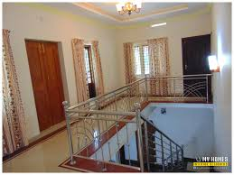 latest trend kerala home staircase models designs