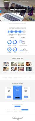 Infographic Website Template Infographics Modern Portfolio Joomla Template
