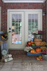 Dainty Pumpkins Unskinny Boppy And Fall Porch Decorating Ideas Fall Porch  Decor As Wells As Plants