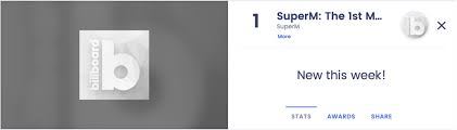 Billboard Pop Album Chart Superms Debut Album Ranks No 1 At Billboard 200 Albums Chart