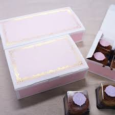 fast shipping wholesale cookie boxes pink lace bakery box food diy packing76